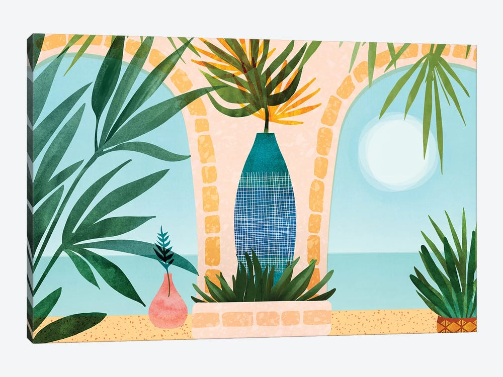 Welcome To The Hotel California by Modern Tropical 1-piece Art Print