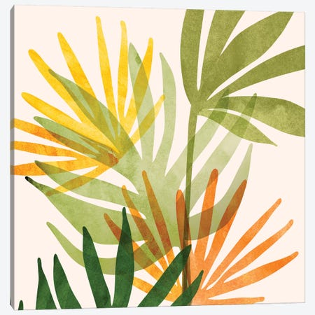 Modern Tropical Summer Abstract Canvas Print #MTP115} by Modern Tropical Canvas Art Print