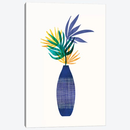 Bright Modern Tropical Greenery Canvas Print #MTP119} by Modern Tropical Canvas Wall Art