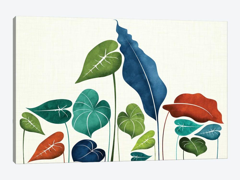 Around The World by Modern Tropical 1-piece Canvas Artwork
