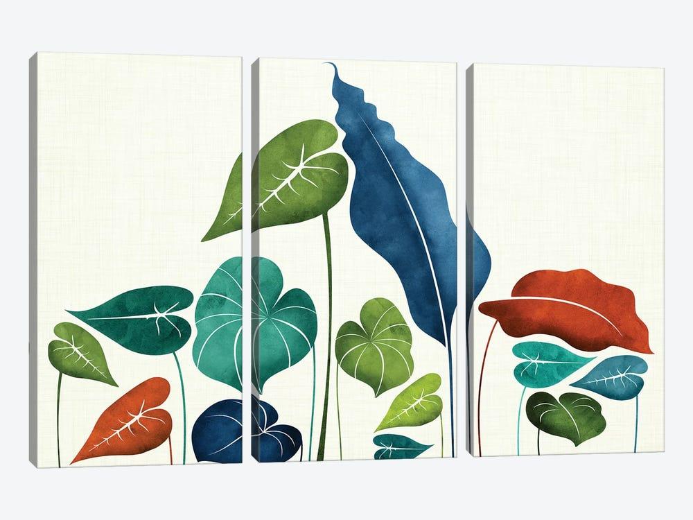 Around The World by Modern Tropical 3-piece Canvas Artwork