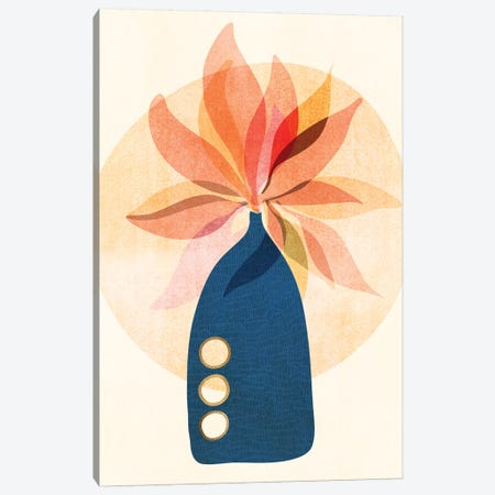 Seasonal Bouquet Canvas Print #MTP121} by Modern Tropical Art Print