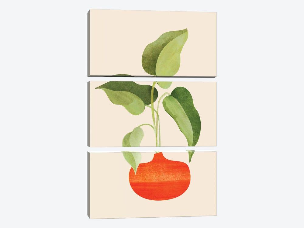 Beginnings by Modern Tropical 3-piece Art Print