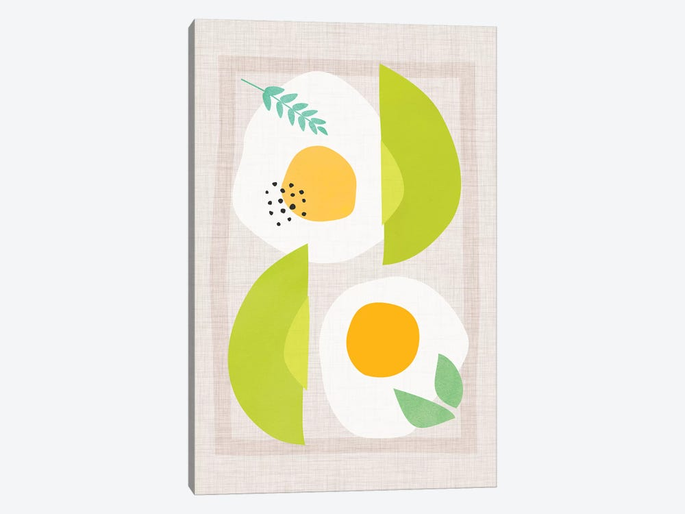 Avocado And Eggs by Modern Tropical 1-piece Art Print