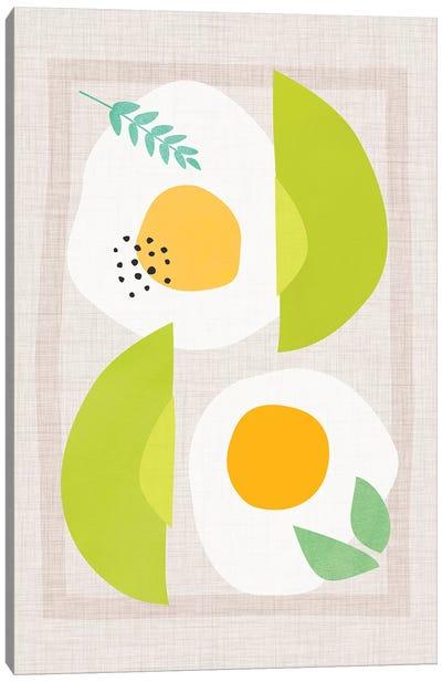 Avocado And Eggs Canvas Art Print
