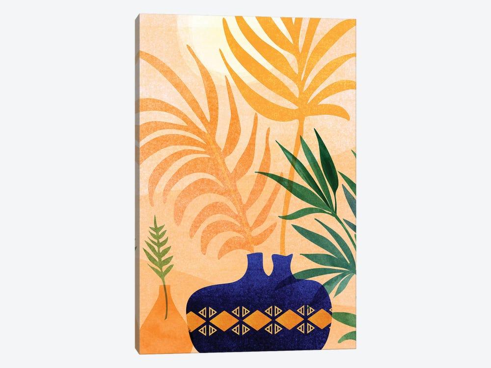 Afternoon Desert Garden by Modern Tropical 1-piece Canvas Art