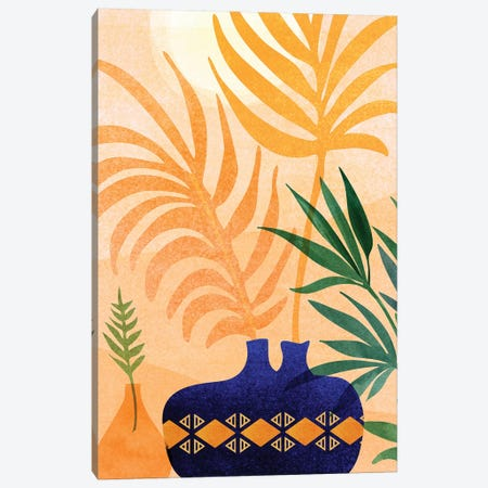 Afternoon Desert Garden Canvas Print #MTP132} by Modern Tropical Canvas Artwork