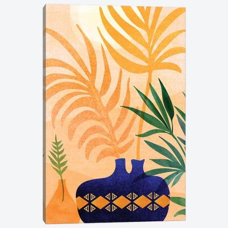 Afternoon Desert Garden Canvas Print #MTP132} by Modern Tropical Canvas Artwork