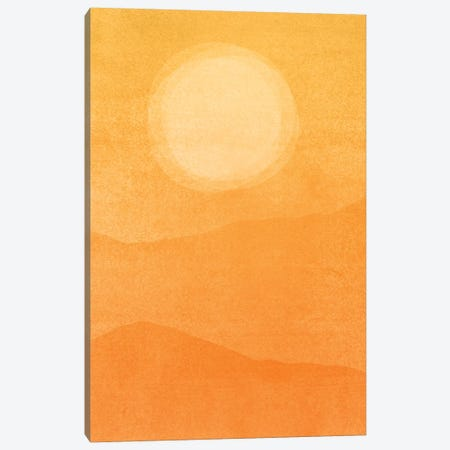 Rustic Afternoon Abstract Canvas Print #MTP134} by Modern Tropical Art Print