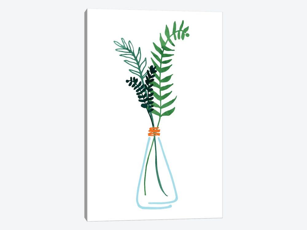 Herb Sprigs by Modern Tropical 1-piece Canvas Artwork