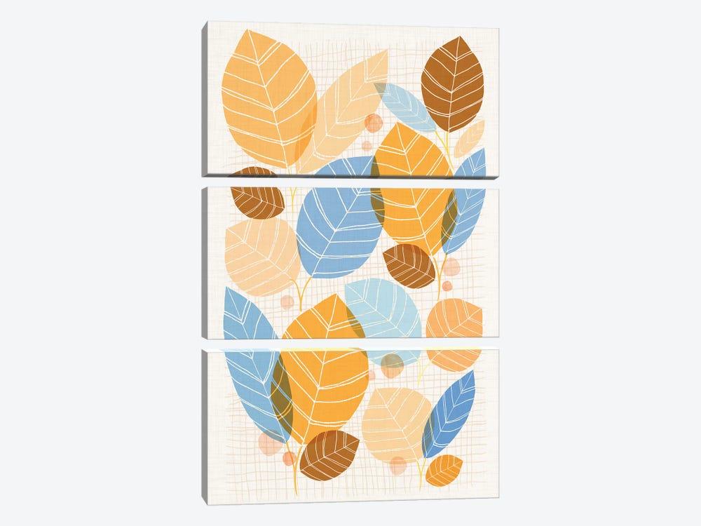 Golden Aspen by Modern Tropical 3-piece Canvas Print