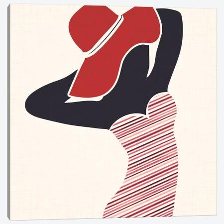 Beach Beauty I Canvas Print #MTP13} by Modern Tropical Art Print