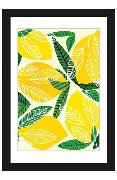 The Lemon Party Framed Art Print