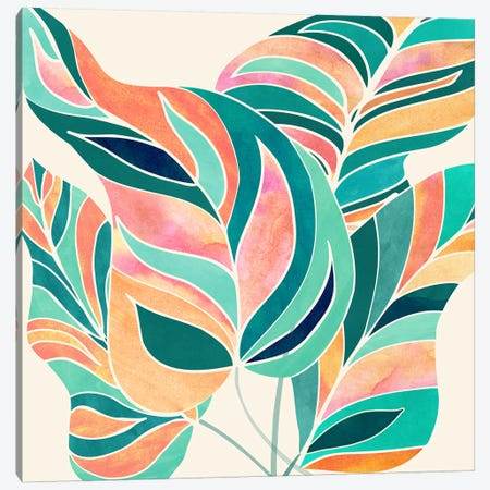 Rise Up Canvas Print #MTP144} by Modern Tropical Canvas Art