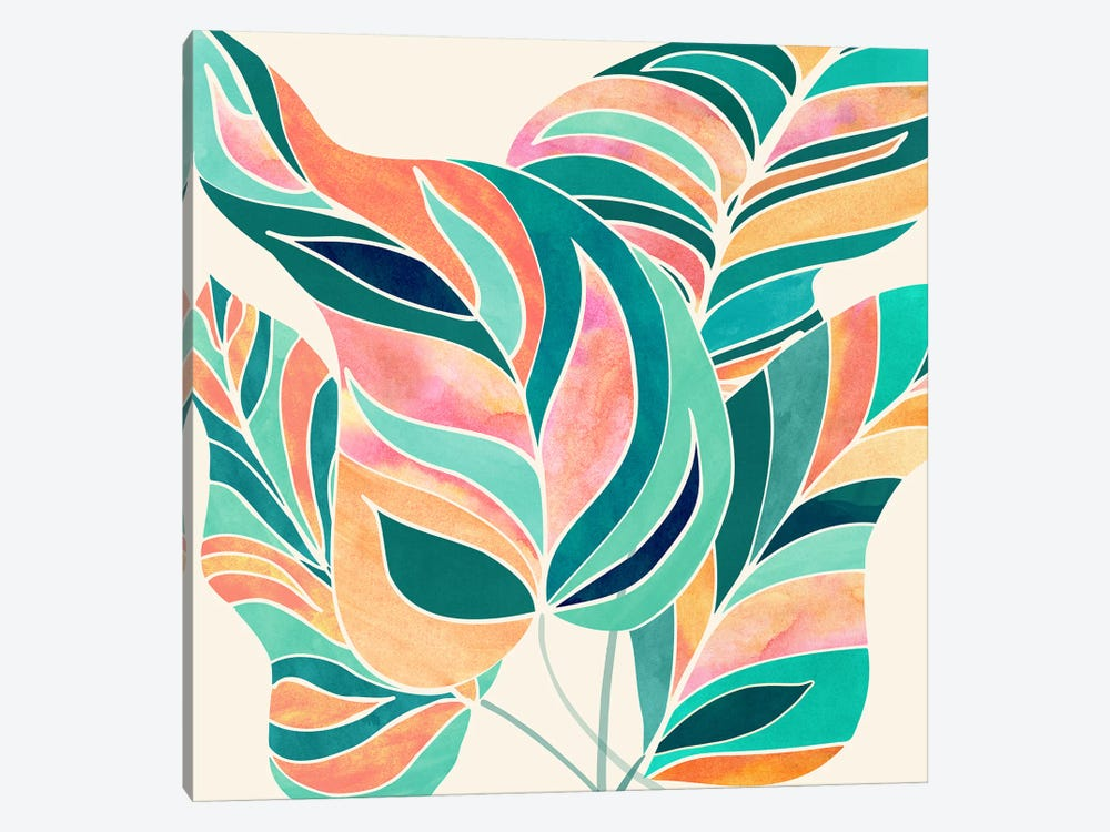 Rise Up by Modern Tropical 1-piece Canvas Print
