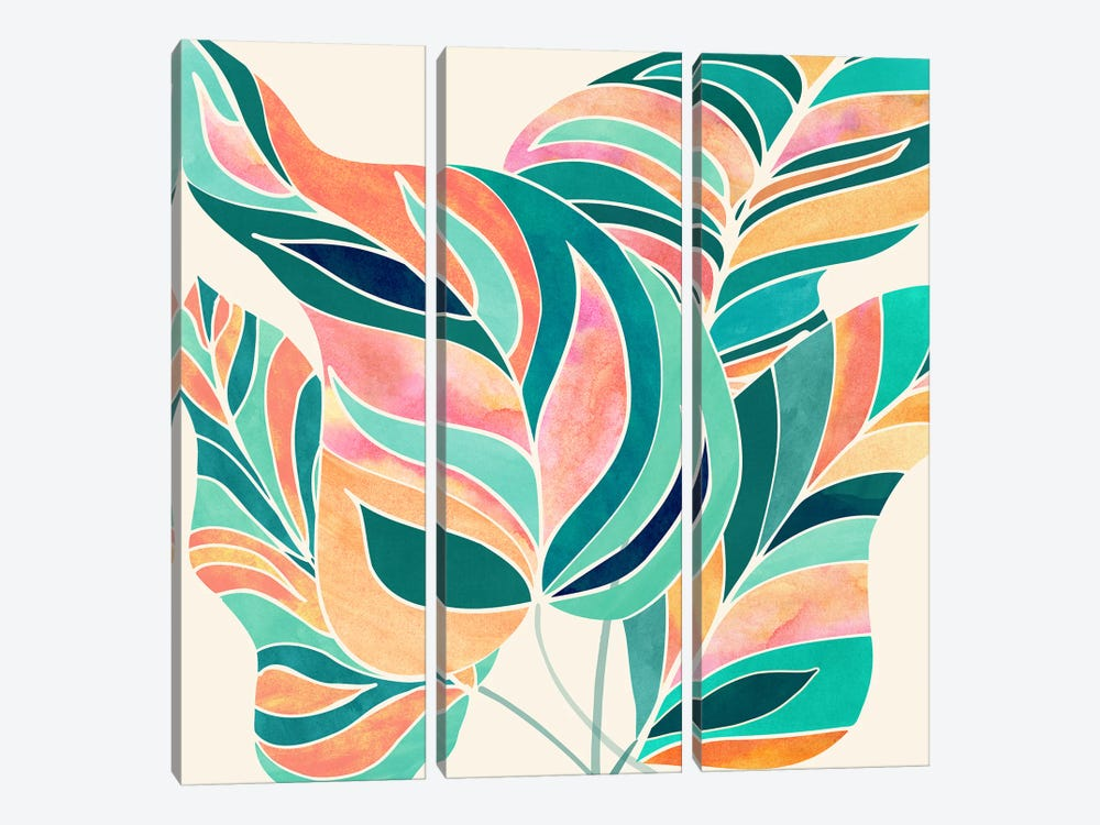 Rise Up by Modern Tropical 3-piece Art Print