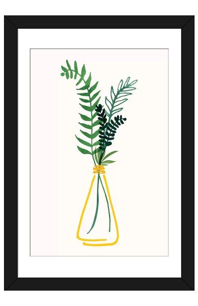Italian Herbs II Framed Art Print