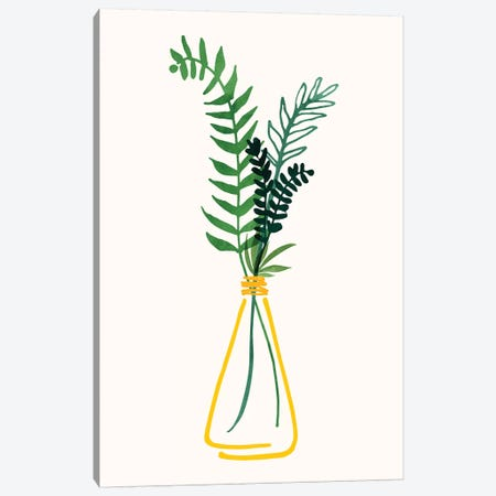 Italian Herbs II Canvas Print #MTP146} by Modern Tropical Canvas Art