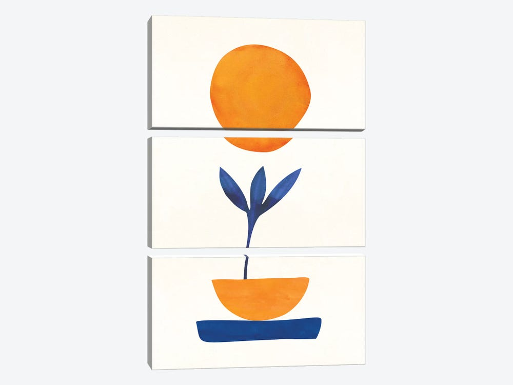 The Little One by Modern Tropical 3-piece Canvas Wall Art