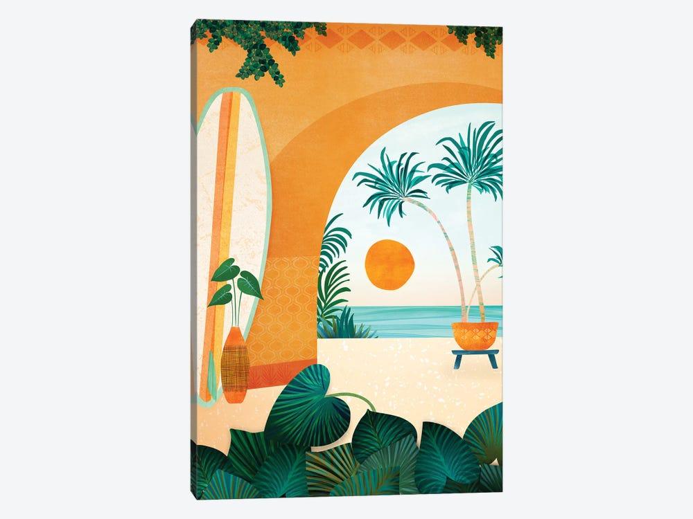 Seaside Surf Retreat by Modern Tropical 1-piece Art Print