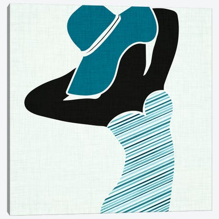 Beach Beauty II Canvas Print #MTP14} by Modern Tropical Canvas Artwork