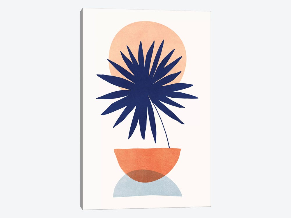 Islands In The Sun by Modern Tropical 1-piece Canvas Wall Art