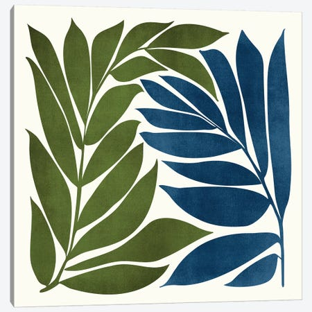 Deep Woods Canvas Print #MTP154} by Modern Tropical Art Print