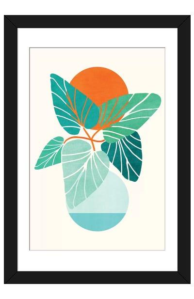 Tropical Life Framed Art Print