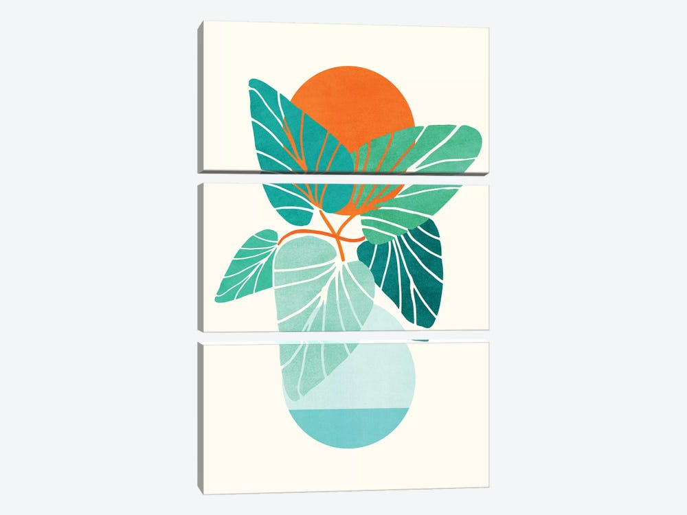 Tropical Life by Modern Tropical 3-piece Art Print