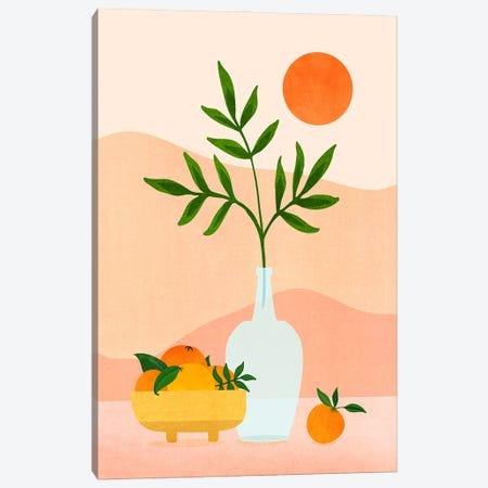 Summer Daze Canvas Print #MTP157} by Modern Tropical Canvas Art Print