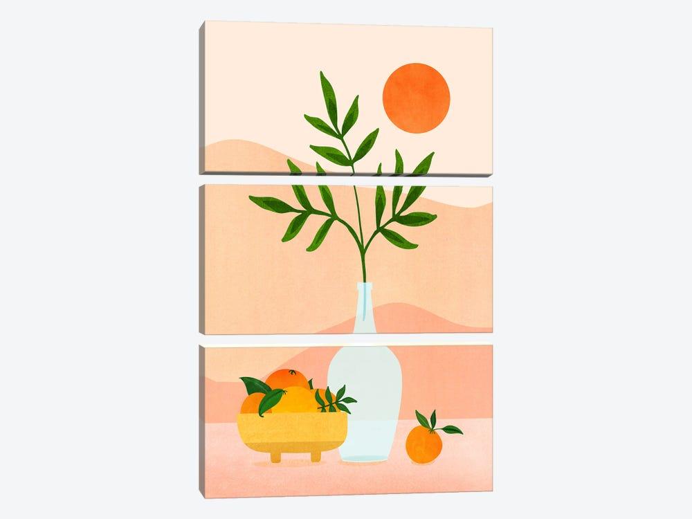 Summer Daze by Modern Tropical 3-piece Canvas Art Print