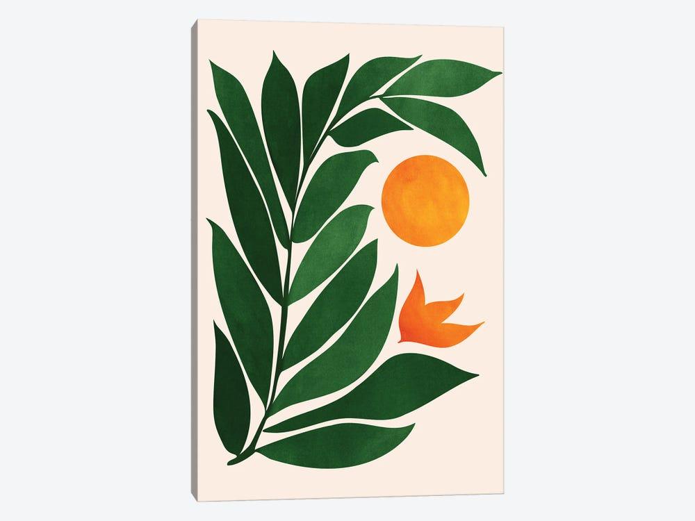Garden Sunset III by Modern Tropical 1-piece Canvas Print