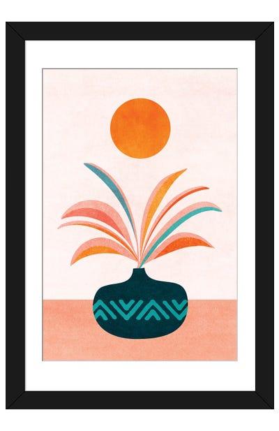 Sun Worship Framed Art Print