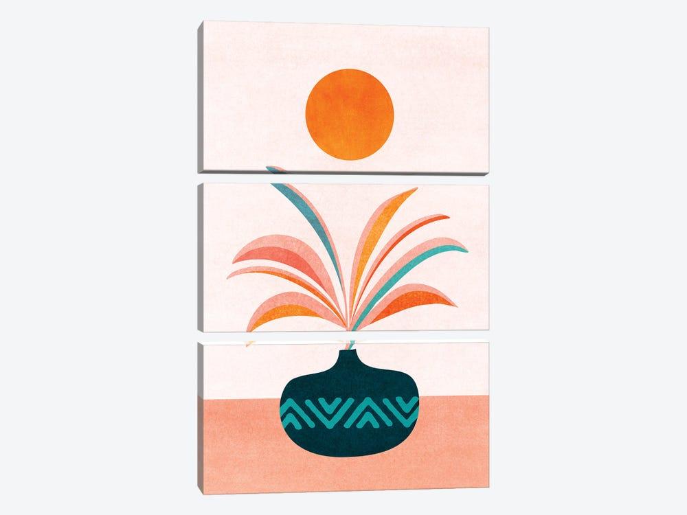 Sun Worship by Modern Tropical 3-piece Art Print