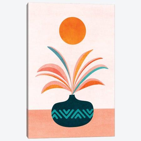 Sun Worship Canvas Print #MTP160} by Modern Tropical Art Print