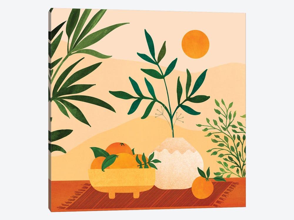 Bohemian Summer by Modern Tropical 1-piece Canvas Art Print