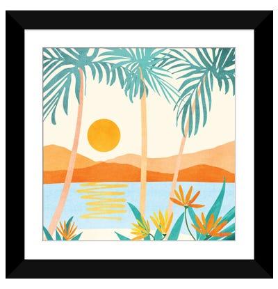 Bali Sunset Framed Art Print