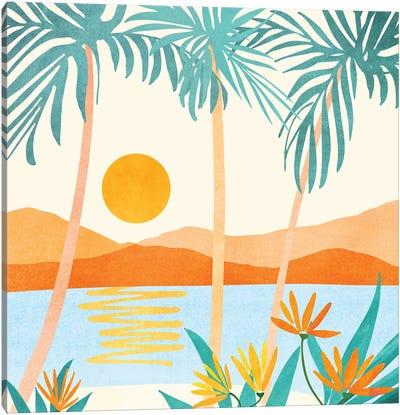 Bali Sunset Canvas Art Print