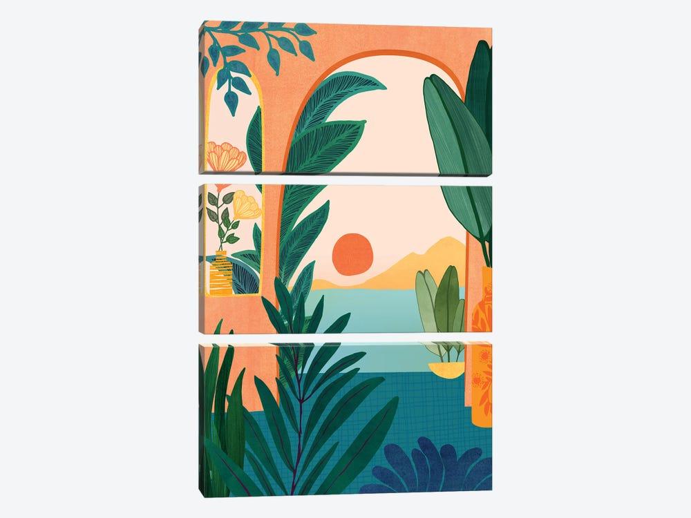 Tropical Evening by Modern Tropical 3-piece Canvas Art