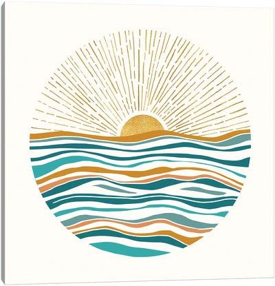 The Sun and The Sea II Canvas Art Print