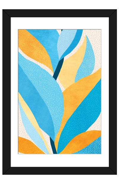 Fire and Ice III Framed Art Print