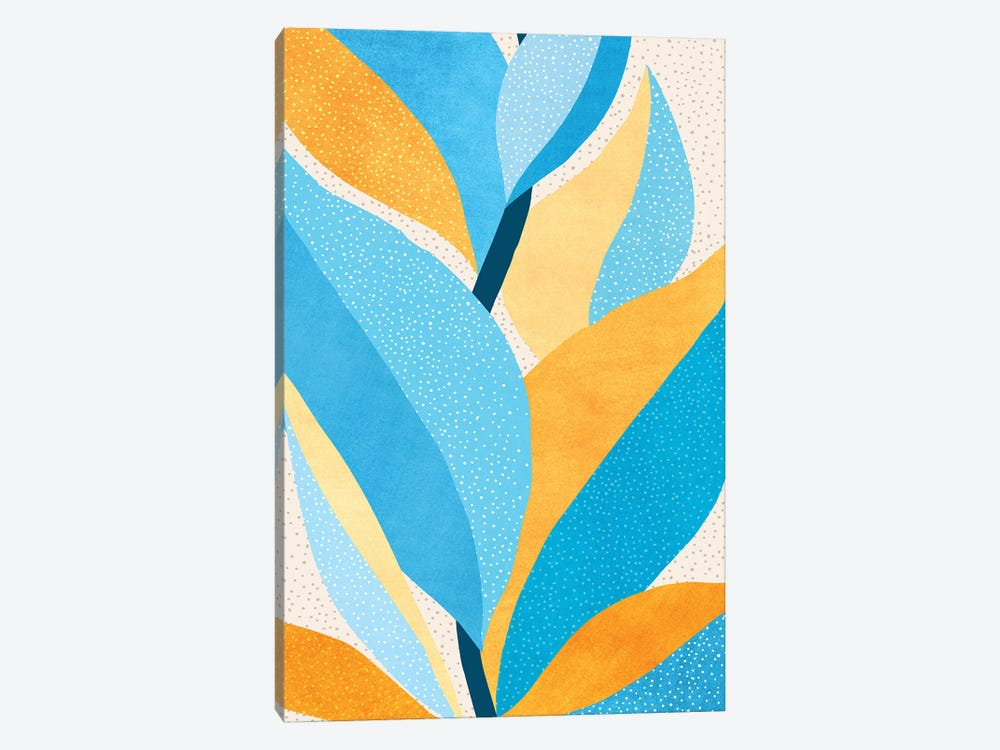 Fire and Ice III by Modern Tropical 1-piece Canvas Art