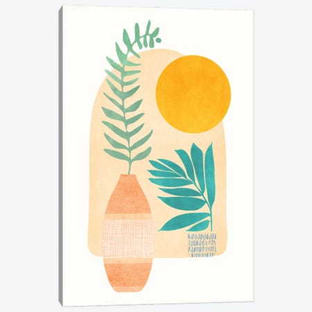 Sunny Side Up Canvas Print #MTP174} by Modern Tropical Canvas Print