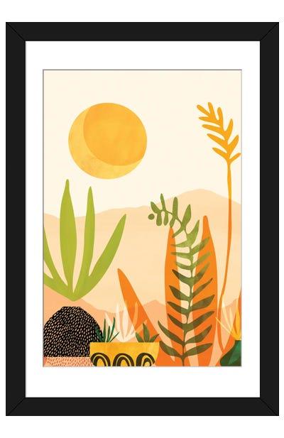 Midsummer Harvest Framed Art Print
