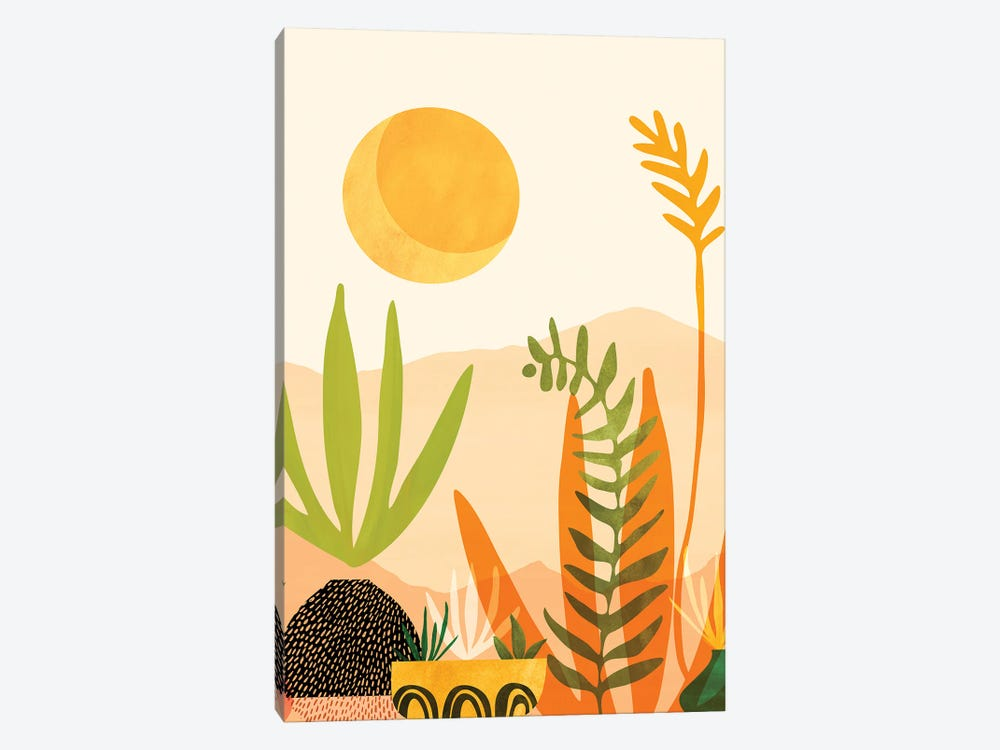 Midsummer Harvest by Modern Tropical 1-piece Canvas Print