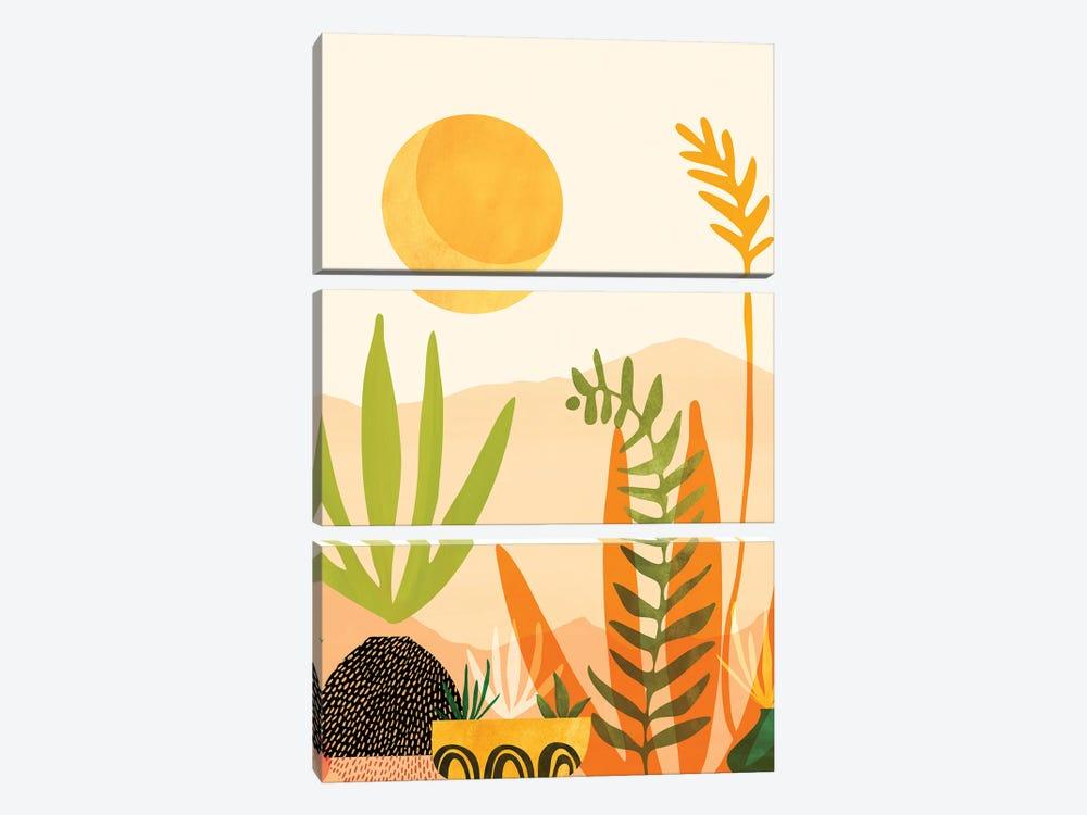 Midsummer Harvest by Modern Tropical 3-piece Art Print