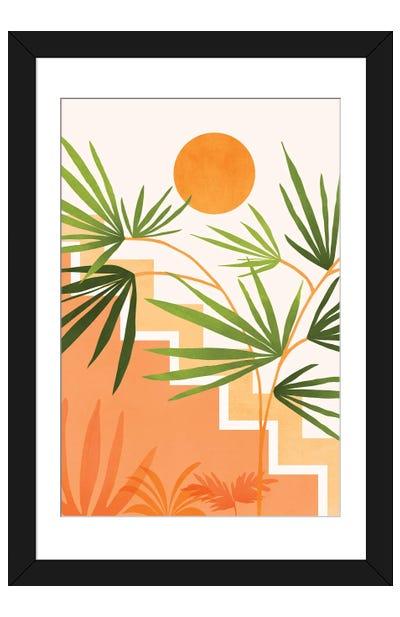 Summer In Santa Fe Framed Art Print
