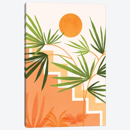 Summer In Santa Fe Canvas Print #MTP176} by Modern Tropical Canvas Print
