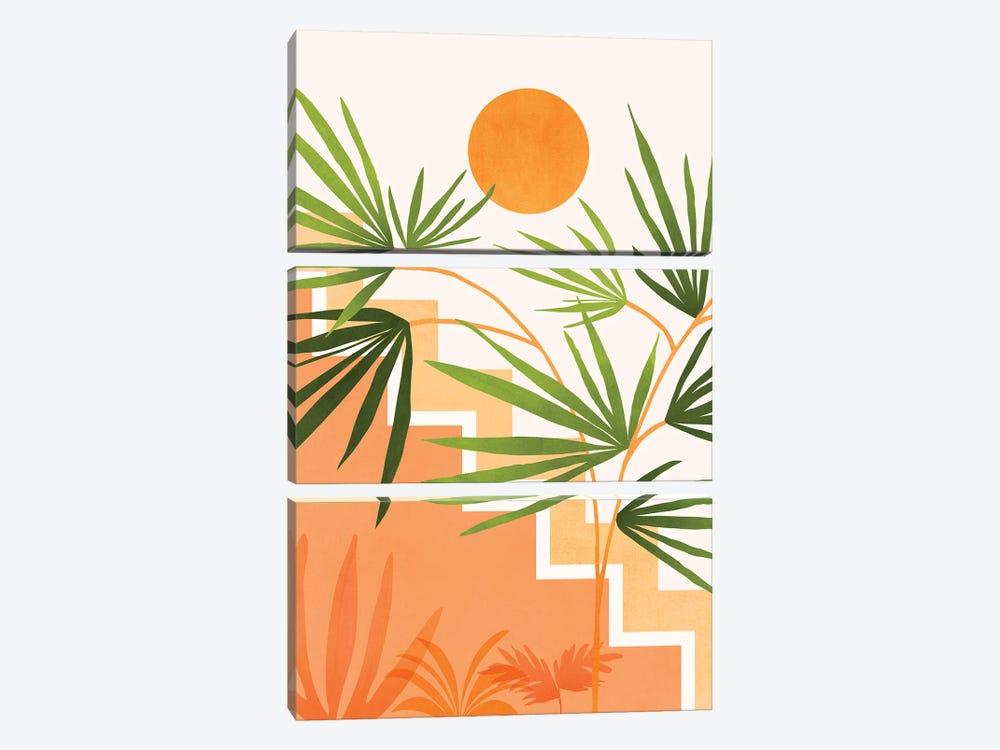 Summer In Santa Fe by Modern Tropical 3-piece Canvas Art