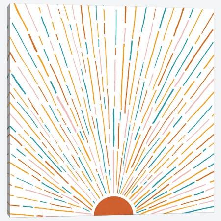 Sunshine All Around Canvas Print #MTP177} by Modern Tropical Canvas Art Print
